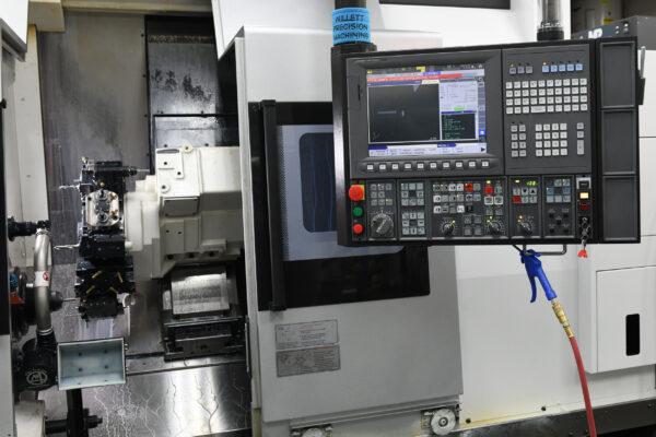 CNC Lathe Live Tooling